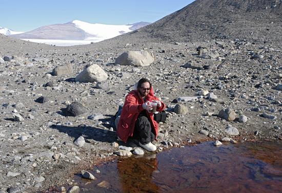 mak saito in antarctica