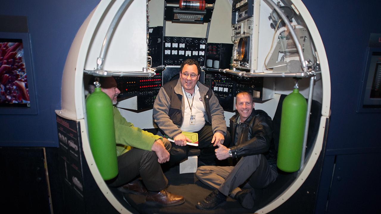 Alvin personnel sphere