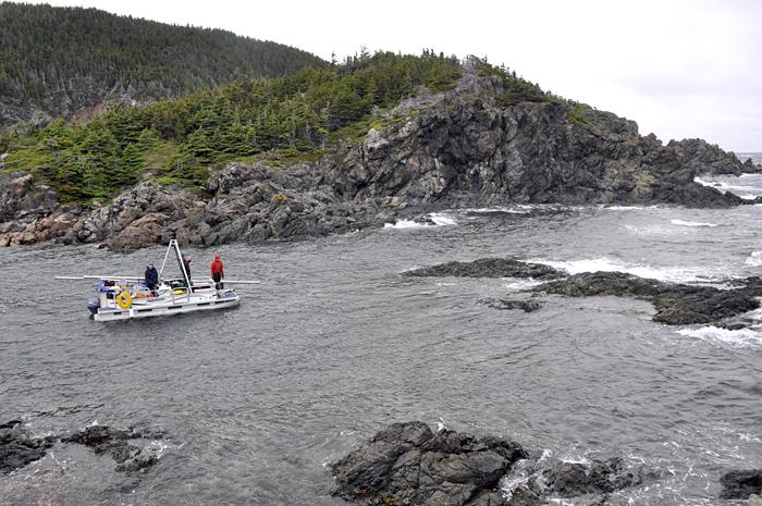 Newfoundland coring