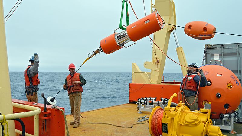 Argentine Basin buoy deployment