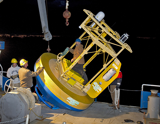 OOI buoy on r/v connecticut