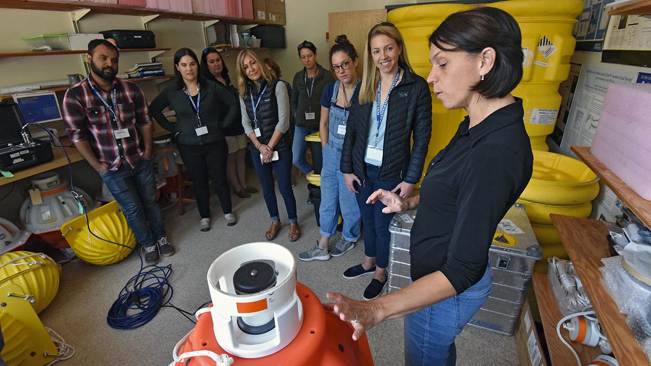 Ocean Science Journalism Fellows