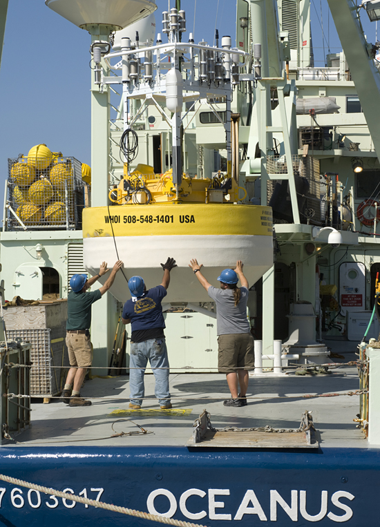 NTAS buoy on Oceanus
