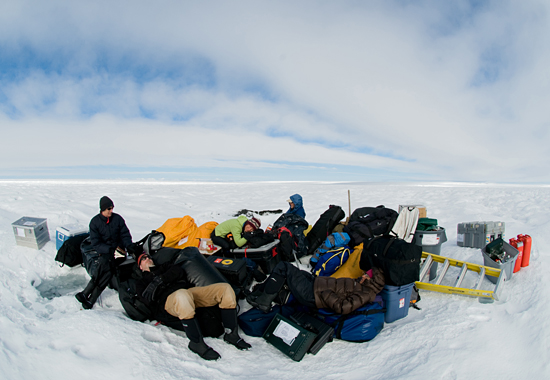 Polar Discovery science team