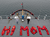 Mother's Day message at sea