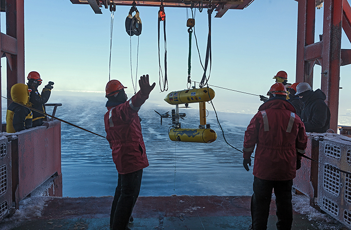 SeaBED in the Antarctic