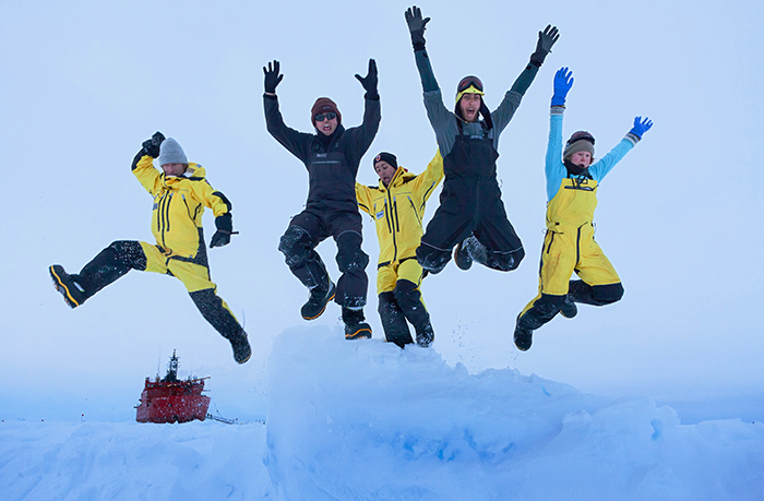 Jumping for joy in the Southern Ocean