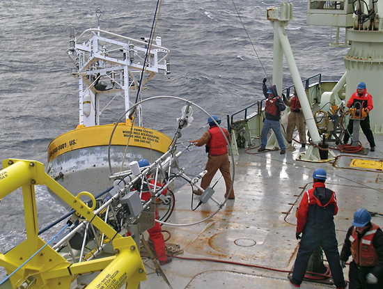 climode buoy deployment