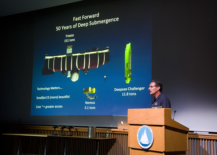 History of deep-ocean technology