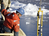 Mooring deployment in Greenland