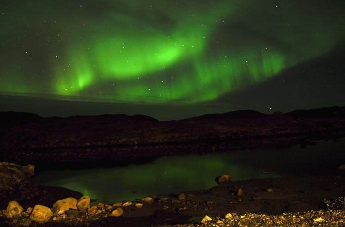 Aurora in Greenland