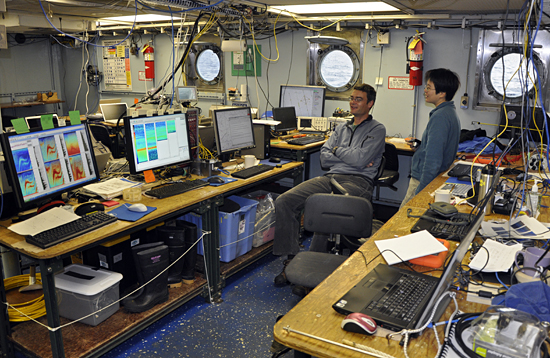 Krill cruise in NW Atlantic