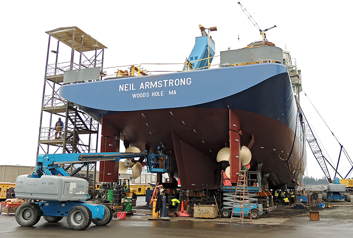New oceanographic ship R/V Armstrong