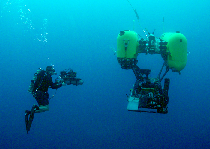 hrov nereus being photographed