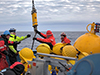 Arctic buoy recovery