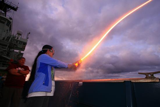 expired flare firing