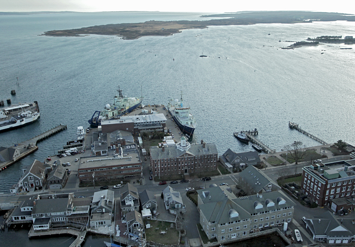 WHOI dock