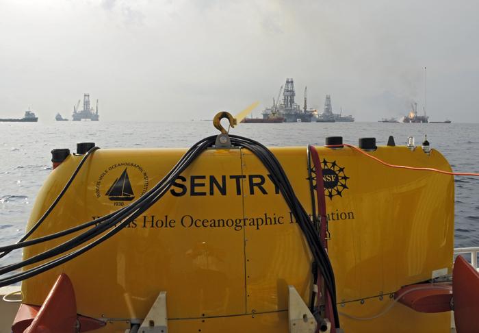 sentry in the gulf