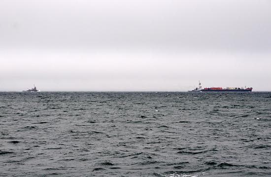 tug boat backup in Buzzards Bay