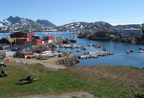 port of tasillaq, greenland