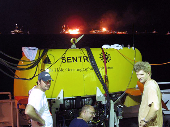 AUV Sentry in the Gulf of Mexico