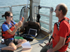 Drag studies on fishing gear