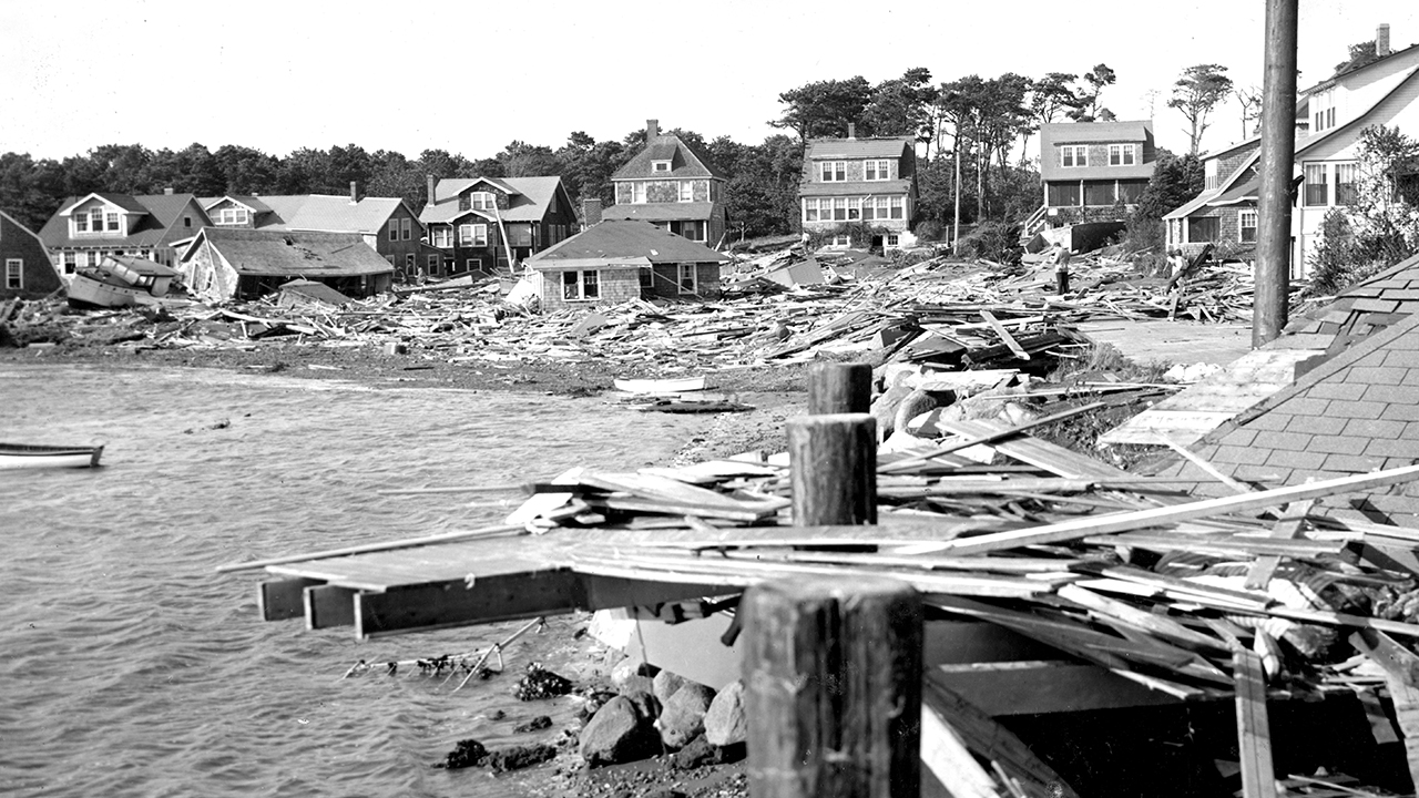 1938 hurricane on Cape Cod