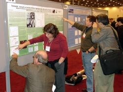 Scientists explain their research at the AGU meeting