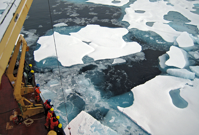 Arctic mooring recovery
