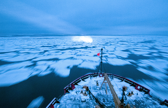 Arctic research cruise