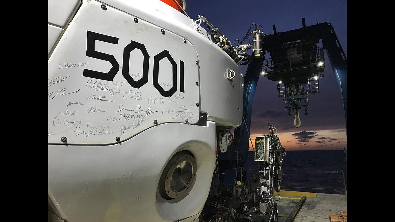 Alvin 5001st dive