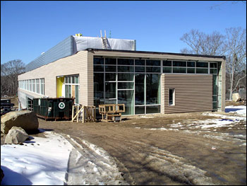 Marine Research Facility March 05 east elevation