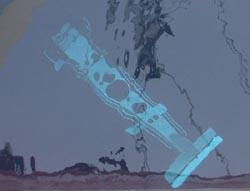 view of BIOMAPER underwater