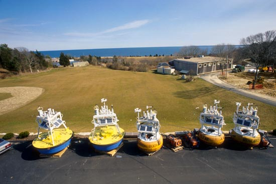 buoys during burn-in at WHOI