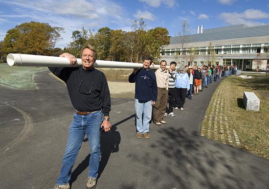 Jim Broda and his long core