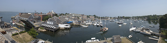 woods hole panorama