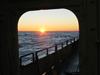 R/V Oceanus sunset during cruise OC433.