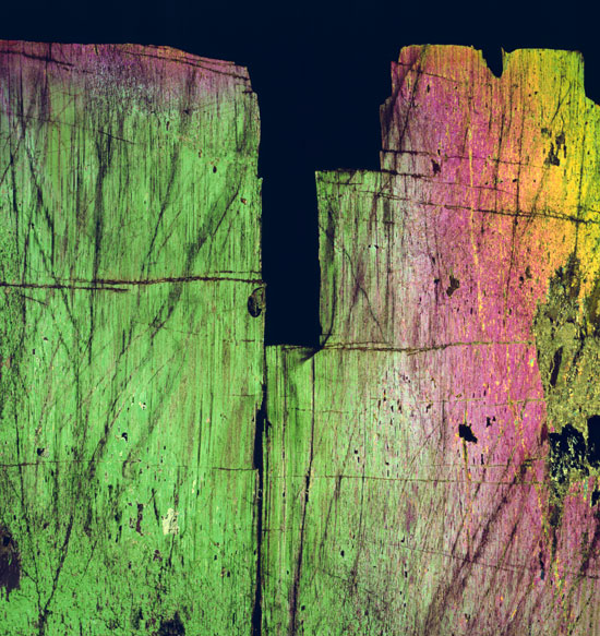 rock thin section