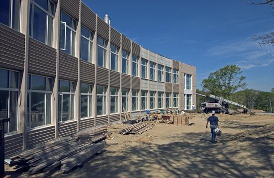 Biogeochemistry lab under construction