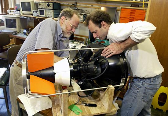 Rob Goldsborough and Greg Packard