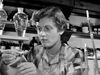 Sybil Campbell in chemistry laboratory