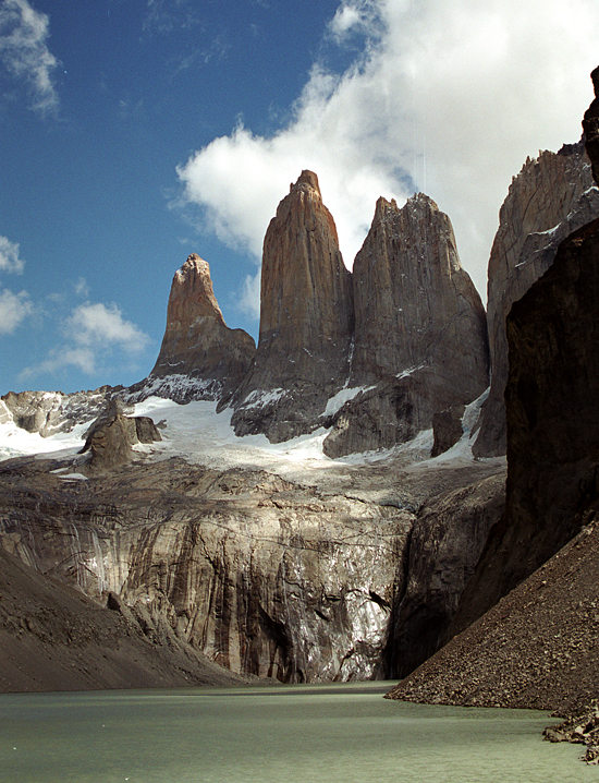 Torres del Paine, taken during a port call in Chile at Torres del Paine National Park in Chile