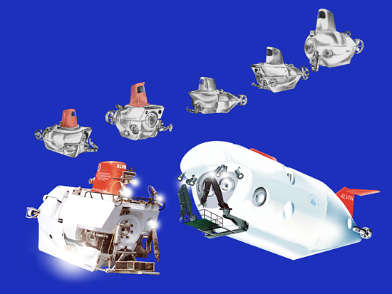 The evolution of deep submergence vehicle Alvin.
