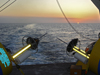 Sunset off of RV Revelle in Bahamas, 4/19/2008.