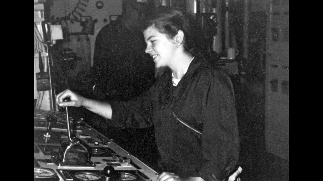 Women in the engine room