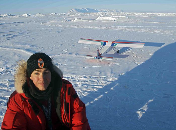 Aerial ice survey