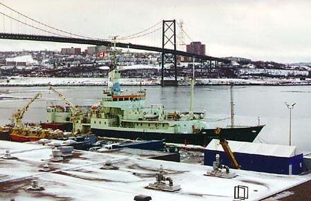 Knorr in Halifax