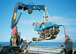 ROV Jason is deployed