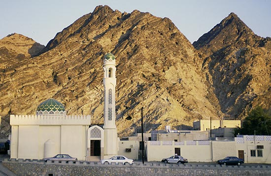 The largest ophiolite is in Oman near the Persian Gulf