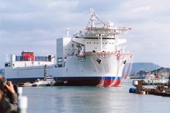 Integrated Ocean Drilling Program's new drill ship Chikyu